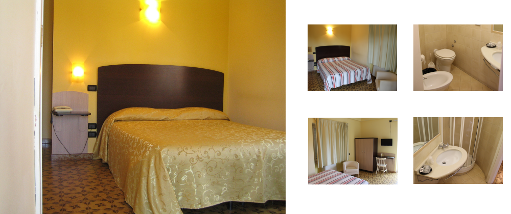 Single room with double bed - ALBERGO CARPINO